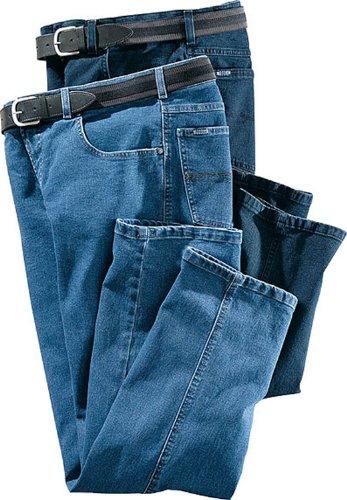 Pionier Jeans Flat Front Stretch dunkelblau Farbe 61, 114