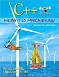 img - for C++ How to Program (7th Edition) (text only) 7th (Seventh) edition by P.J.Deitel.H.M. Deitel book / textbook / text book
