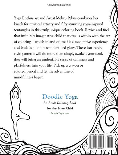 Doodle Yoga An Adult Coloring Book For The Inner Child Gutter Margin Mehru Pekus Eva Xanthopoulos 9781517344085 Amazon Books