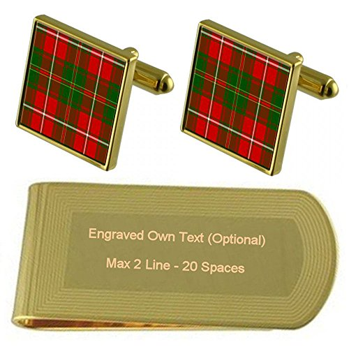 Clan Engraved Money Tartan Tartan Tone Clan Gold Clip Hay IUUREqw