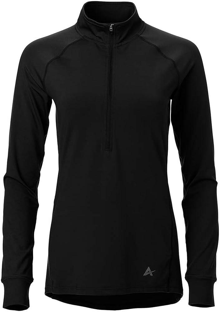 Arctic Cool Women's Instant Cooling 1/2 Zip Long Sleeve Shirt