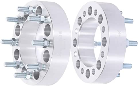 ECCPP Replacement Parts Wheel spacers 8x6.5 to 8x6.5 9//16 121mm 2 inch fit for 1994-2010 Dodge Ram 2500 3500 2011-2012 Ram 2500 3500
