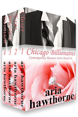 """Four Steamy Stand-Alone Bestselling Romances Novels with HEAs!!! - Mature Content - 18+years. All four novels are set in the grand lakefront city of Chicago.From the Amazon US and UK Top 100 """"Most Read"""" Kindle All-Star author Aria Hawthorne comes he..."""