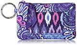 Vera Bradley womens Zip Id Case, Lilac Tapestry, One size