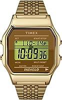 Timex Unisex-Armbanduhr Digital Quarz Edelstahl TW2P48700