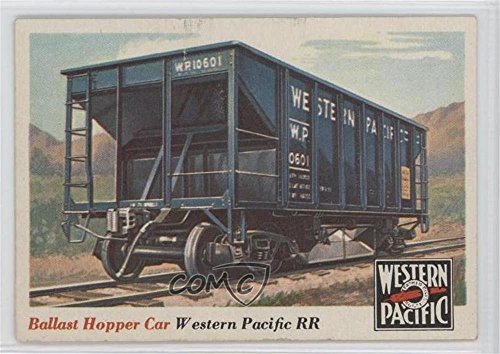 Ballast Hopper Car COMC REVIEWED Good to VG-EX (Trading Card) 1955 Topps Rails and Sails - [Base] #29 ()