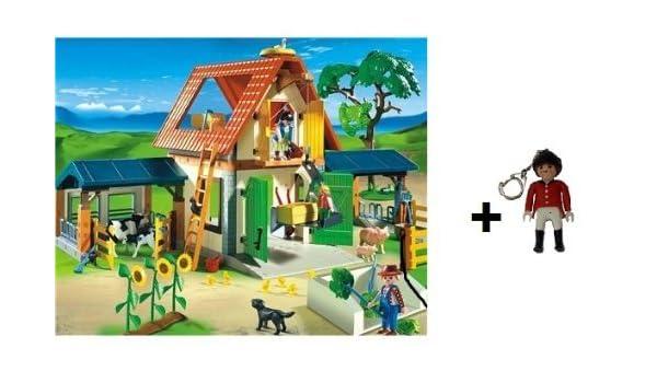 Playmobil 4490 Granja Moderna con Playmobil adicional ...