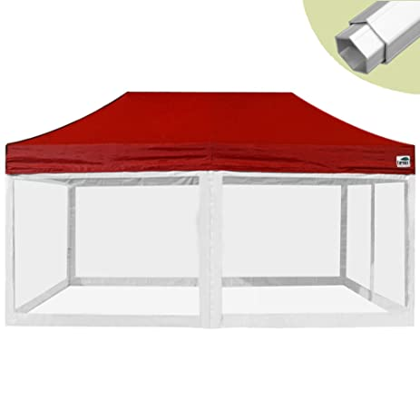 Eurmax Professional Ez Pop up Canopy Screen Tent Commercial Instant Shelter with 4 Removable Screen Mesh  sc 1 st  Amazon.com & Amazon.com : Eurmax Professional Ez Pop up Canopy Screen Tent ...
