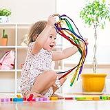 Rainbow Hand Kite Ribbon - Montessori Toy Baby