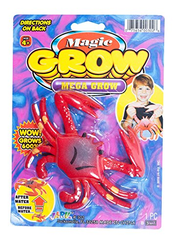 JaRu, Magic Grow Mega Grow Sea Animals, Crab, 2-pack by JaRu