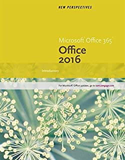 New Perspectives Microsoft Office 365 2016 Introductory Spiral Bound Version MindTap