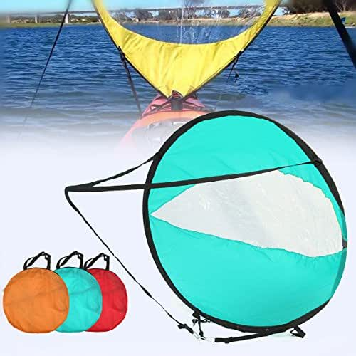Kayak Sail Scout Downwind Wind Paddle Rowing Inflatable Boat Popup Canoe Kayak Accessories