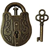 YUNTENG Lock and Unlocking Brain Teaser Puzzle Kids Lock Puzzle Classic Toy Cast Metal Disentanglement Puzzles Stress…