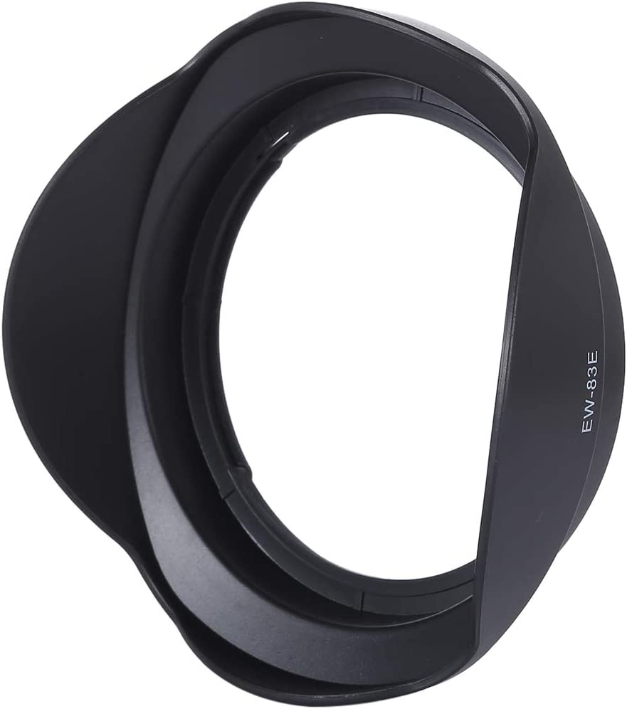 HUANGMENG Protective Accessories EW-83E Lens Hood Shade for Canon EF 17-40mm f//4L USM Black EF-S 10-22mm f//3.5-4.5 USM Lens EF 16-35mm f//2.8L USM HUANGMENG
