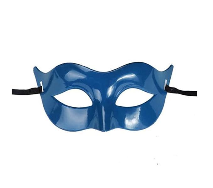 GEEKSLIFE Máscara Azul Traje de Mascarada Veneciano - Inspirado ...