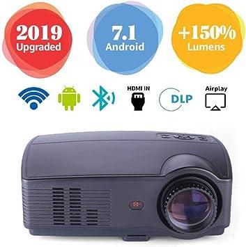 Cine En Casa Mini Proyector LED para WiFi Alta Definición Hogar ...