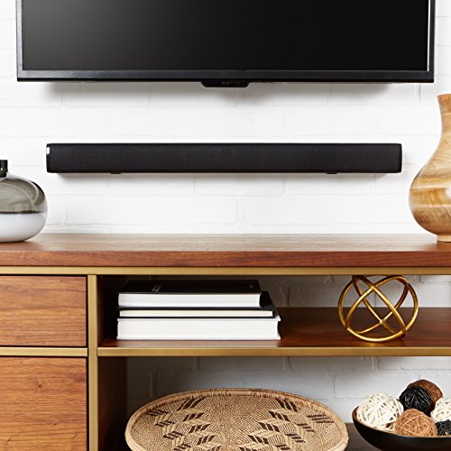 "AmazonBasics 31"" 2.0 Channel Bluetooth Sound Bar with Dual Neodymium Magnet Speakers"