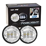 """Motorcycle Daymaker 4-1/2"""" 4.5inch LED Passing Light for Harley Davidson Fog Lamps Auxiliary Light Bulb Projector Spot Driving Lamp Headlight"""