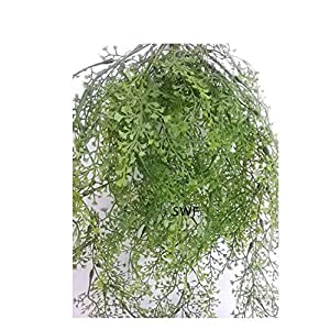 "24"" Maidenhair Fern Hanging Bush Greenery Wedding Flowers Home Decor 2"