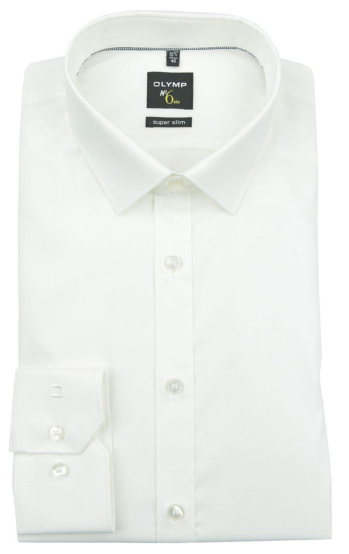 OLYMP Men's Plain Classic Long Sleeve Formal Shirt Beige Beige