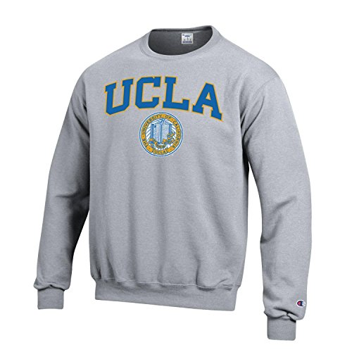 Used, Champion UCLA Block & Seal Men's Sweatshirt-Gray for sale  Delivered anywhere in USA