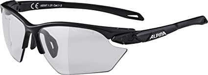 Alpina Sportbrille Twist Five HR S VL+ black white Varioflex