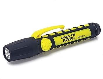 Unilite atex-pl1 ProSafe zona 0 LED linterna | 65 lúmenes: Amazon.es: Bricolaje y herramientas