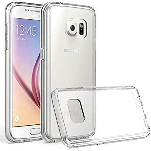 Galaxy S7 Cover Case, Xboun S7 Case [Crystal Shell] PC Back TPU Bumper Scratch Resistant [Seamless integrated] Shock-Absorption [Anti-Tarnish] Cover Sales