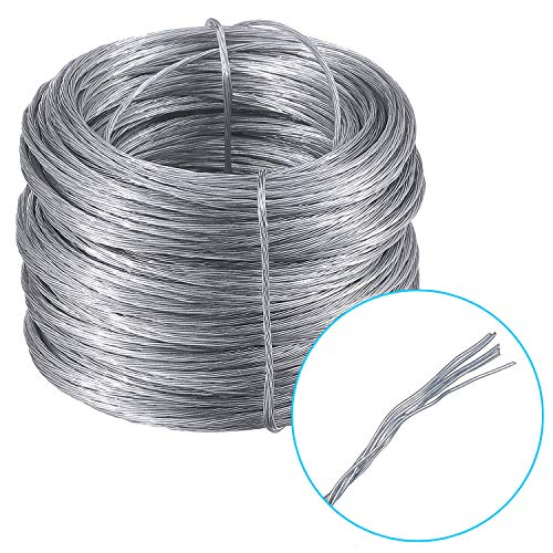 (EAONE Picture Hanging Wire (100 Feet), Stainless Steel Photo Frame Hanging Wire)