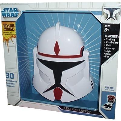 Star Wars Clone Wars Oregon Scientific Laptop Special Clone Commander Edition: Toys & Games