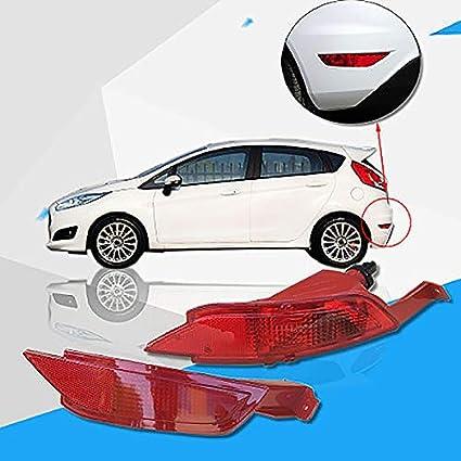 TOOGOO Feu Arri/ère Gauche de Pare-Chocs de Voiture Lumi/ère de Brume Feu de Freinage pour Ford Fiesta Mk7 2008-2012