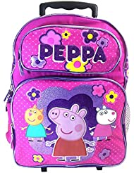 Peppa Pig Full Size Rolling Backpack
