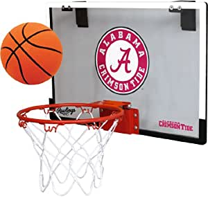 amazoncom ncaa alabama crimson tide game on hoop set by
