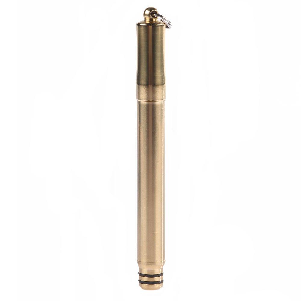 Everyday Carry Brass Keychain Pen