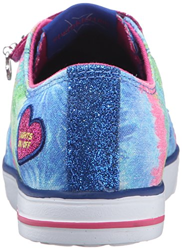 Skechers Mädchen Twinkle Breeze Silly Me Sneaker Blau/Hot Rosa