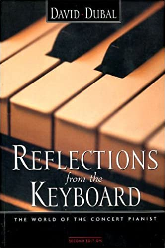 Image result for picture of Reflections from the Keyboard by David Dubal
