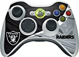 Skinit NFL Oakland Raiders Xbox 360 Wireless Controller Skin - Oakland Raiders Design - Ultra Thin, Lightweight Vinyl Decal Protection