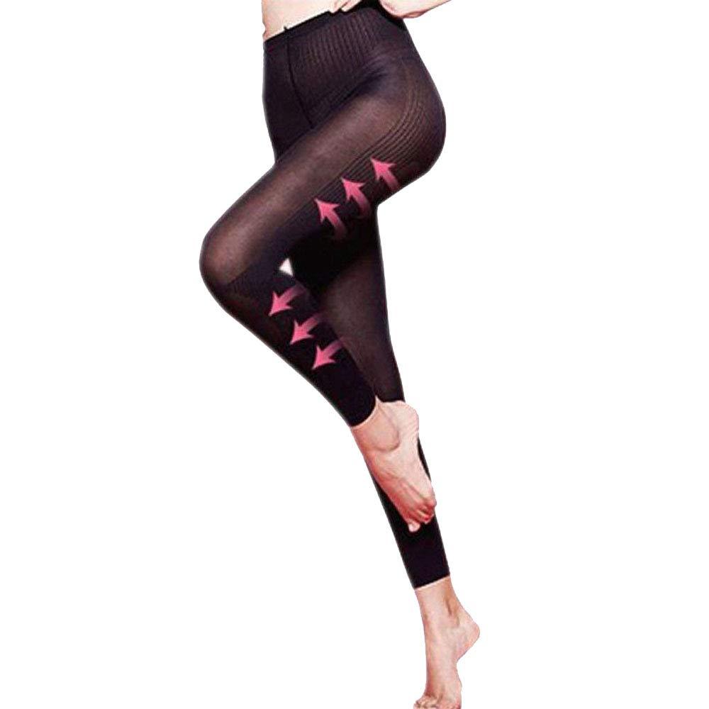 TIREOW Damen Strumpfhose Ultra-Blickdicht Strumpfhose Sculpting Sleep Leg Shaper Hose Legging Socken Frauen Body Shaper Höschen
