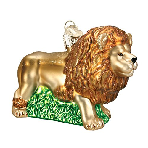 Tree Blown Glass Ornament (Old World Christmas King Of Beasts Glass Blown Ornament)