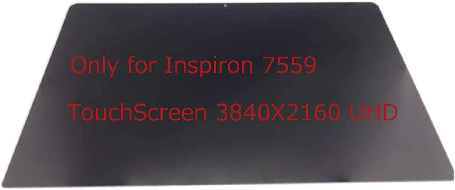 Touch Screen Replacement Assembly Digitizer Glass + LCD for Dell Inspiron 15-7559 UHD 4K Display 3840X2160 LP156UD2 SP A1 (Non-Bezel)