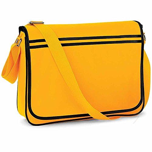 BagBase , Damen Umhängetasche Gelb gelb