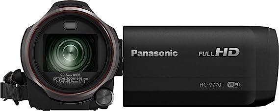 Panasonic HC-V770 12,76 MP Mos BSI - Videocámara (12,76 MP, Mos BSI, 25,4/2,3 mm (1/2.3