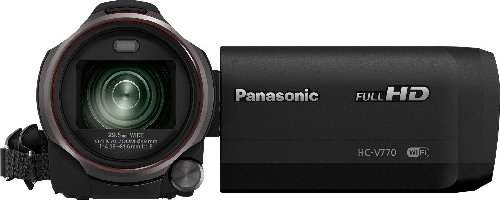 Panasonic HC-V770 12,76 MP Mos BSI - Videocámara (12,76 MP, Mos BSI, 25,4/2,3 mm (1/2.3