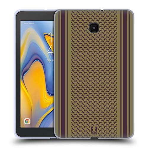 Head Case Designs Olive Scarf Inspired Soft Gel Case Compatible for Galaxy Tab A 8.0 (2018) ()