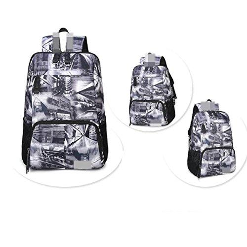 Sport Lock Grey01 Waterproof Password Military Travel Trekking Large Business Backpack Outdoor Hiking Camping wvqfFx6