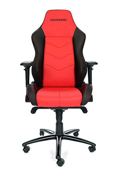 Amazon.com: MAXNOMIC Dominator (Red) Premium Gaming Office & Esports Chair: Kitchen & Dining