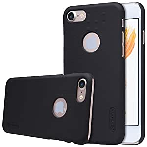 iPhone 7 Case, Nillkin Frosted Shield Hard Case Back Cover [with Screen Protector] for iPhone 7 - Black