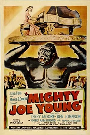 Amazon.com: Mighty Joe Young 11 x 17 Movie Poster – Style B ...
