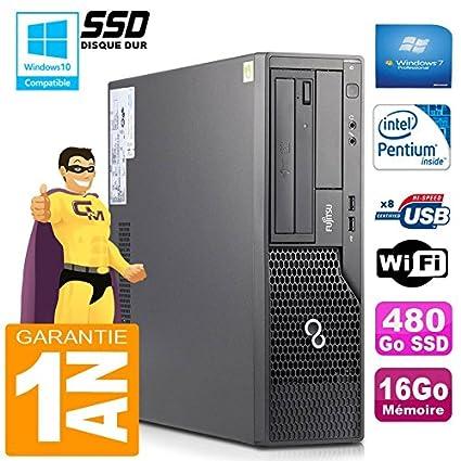Fujitsu PC Esprimo E500 E85+ SFF Intel G640 RAM 16 GB Disco 480 GB ...