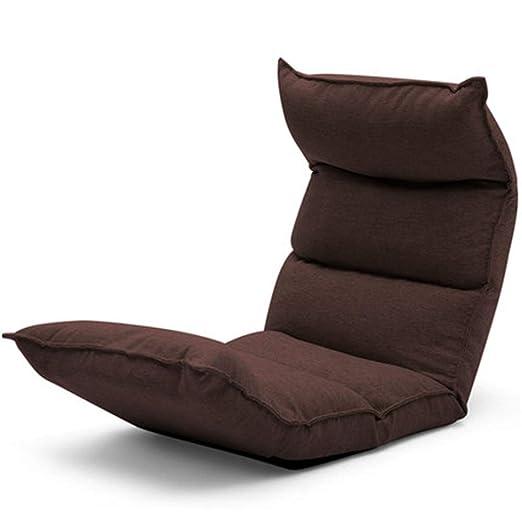 Perezoso Lazy Sofa Sofá Cama Plegable Plegable Ajustable en ...